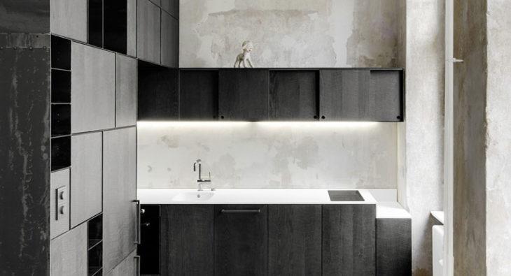 Innenausbau Metall Holz Kombination Tischlerei holzart Berlin