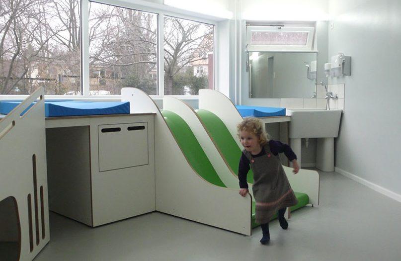 Wickellandschaft Kita Berlin Tischlerei holzart thinkbuild architecture