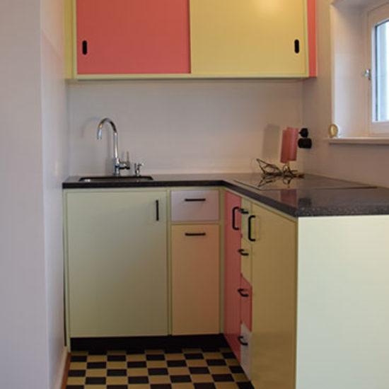 Küche im Retrostil