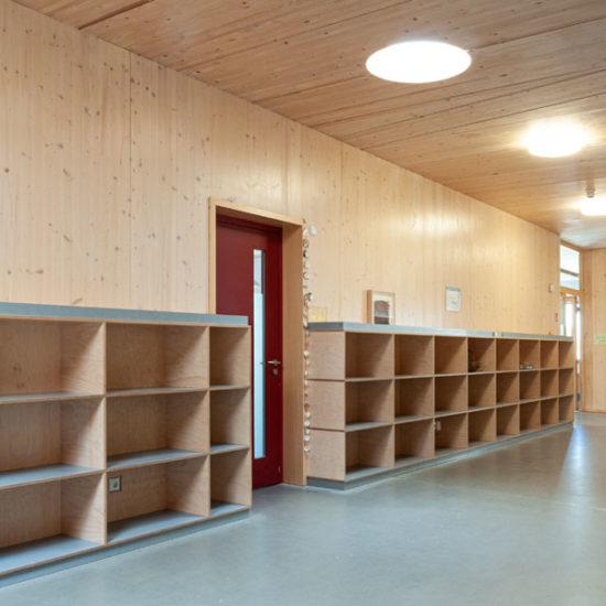 Innenausbau Johannes-Schule