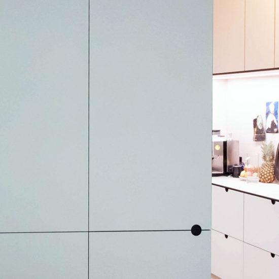 Innenausbau mit Küche